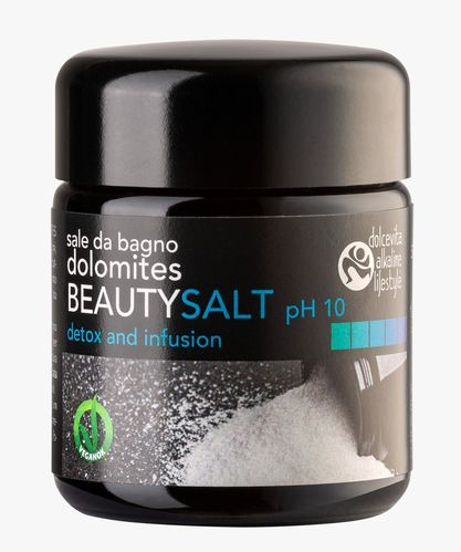Sale da bagno dolomites BEAUTYSALT pH10 75g
