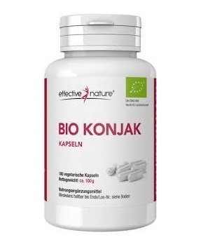 Konjac BIO capsules - for weight loss - 100g