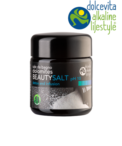 Sale da bagno dolomites BEAUTYSALT pH10 50g